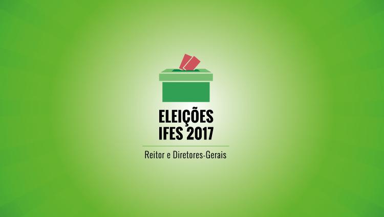 Eleições para reitor e diretor geral