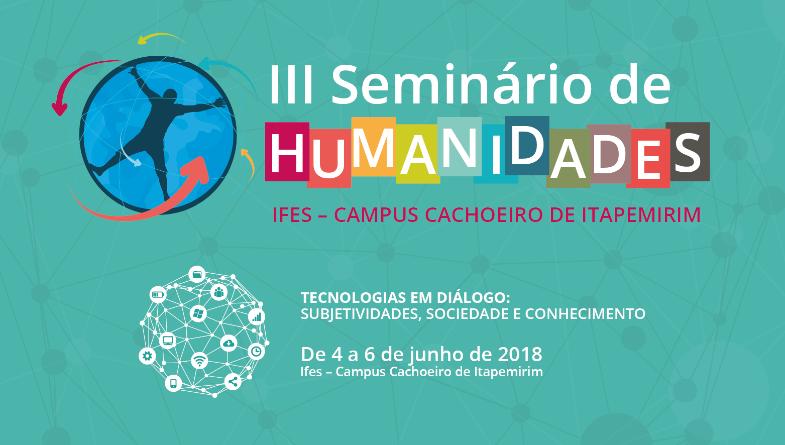 Abertas as inscrições para a 3° Edição do Seminário de Humanidades do Campus Cachoeiro