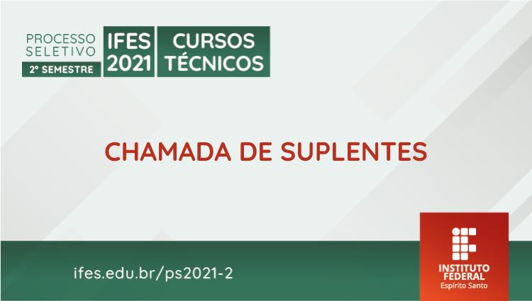 Campus Cachoeiro divulga resultados e chamada de suplentes dos processos seletivos