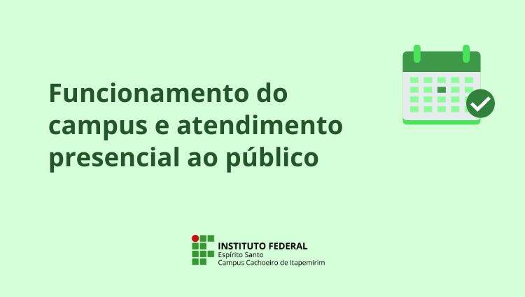 Campus Cachoeiro de Itapemirim amplia retorno gradual ao trabalho presencial